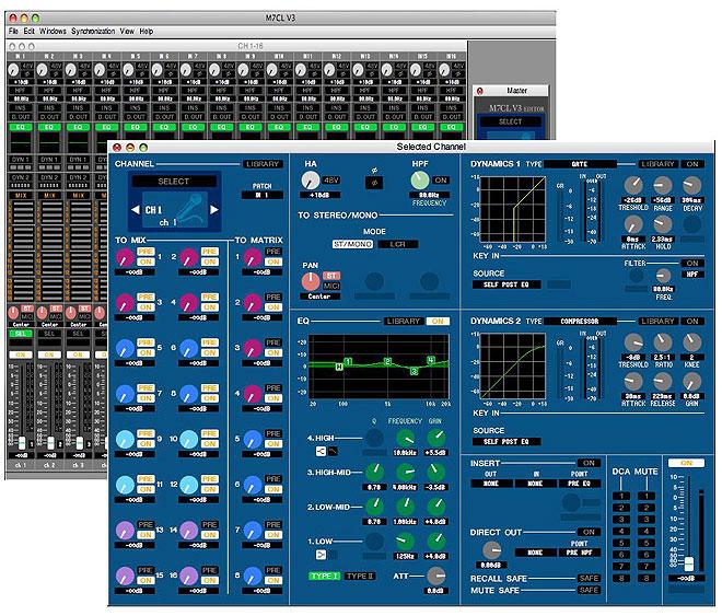 yamaha digital mixer software