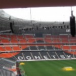 Shakthar Donestk stadium fitted with 272 L-ACOUSTICS enclosures