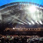 L-ACOUSTICS K1 line array at the Andrea Bocelli free concert