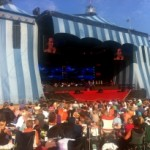 Danish concert uses KARA WST® modular line source system with SB18 subs