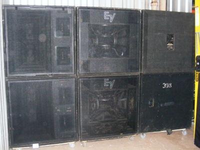 Used MTL4 MTH4H  Speaker System