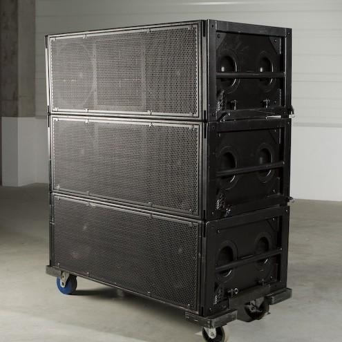 used m3d system by meyer sound item 15175. Black Bedroom Furniture Sets. Home Design Ideas