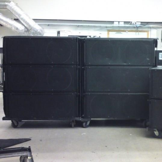 used m2d meyer sound system by meyer sound item 19387. Black Bedroom Furniture Sets. Home Design Ideas