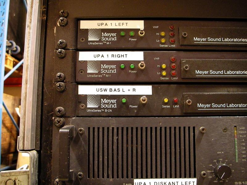 Used Upa 1a By Meyer Sound Item 21491