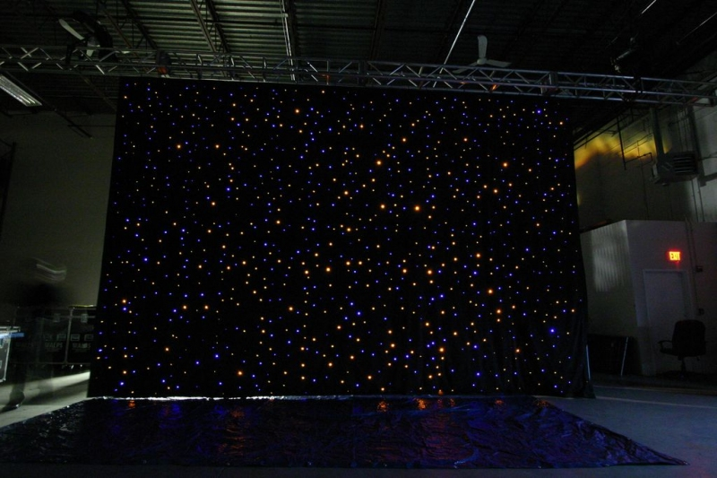 Used Fiber Optic Curtain By Advanced Lighting Systems