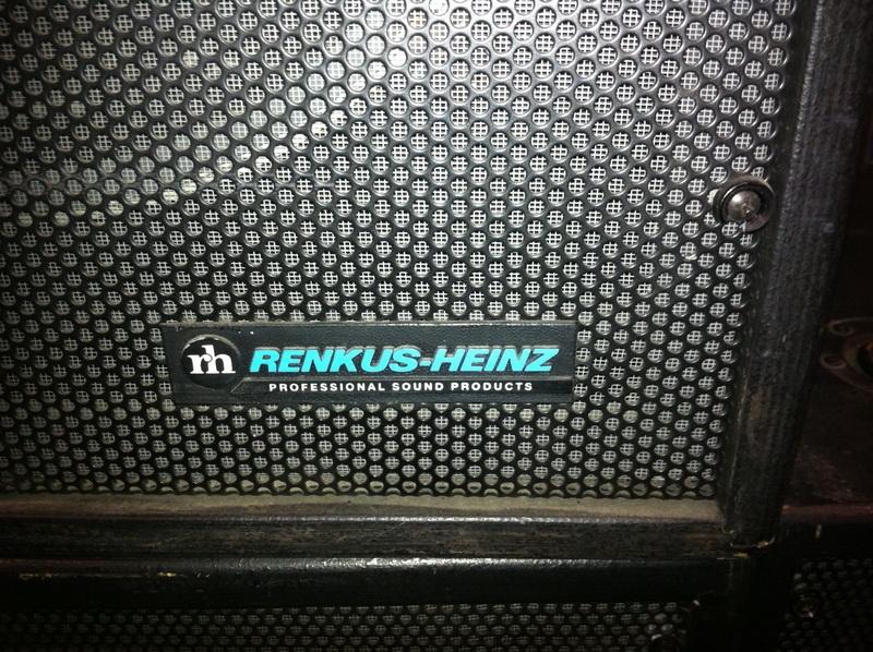 Used XNX from Renkus-Heinz