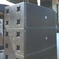Used XLC127DVX from Electro-Voice