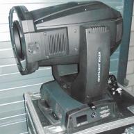 Used Alpha Shotlight Wash from Clay Paky