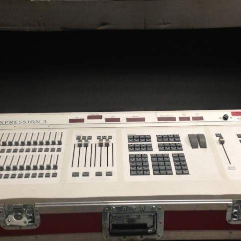 Used Expression 3x 800 Channel from Electronic Theater Controls