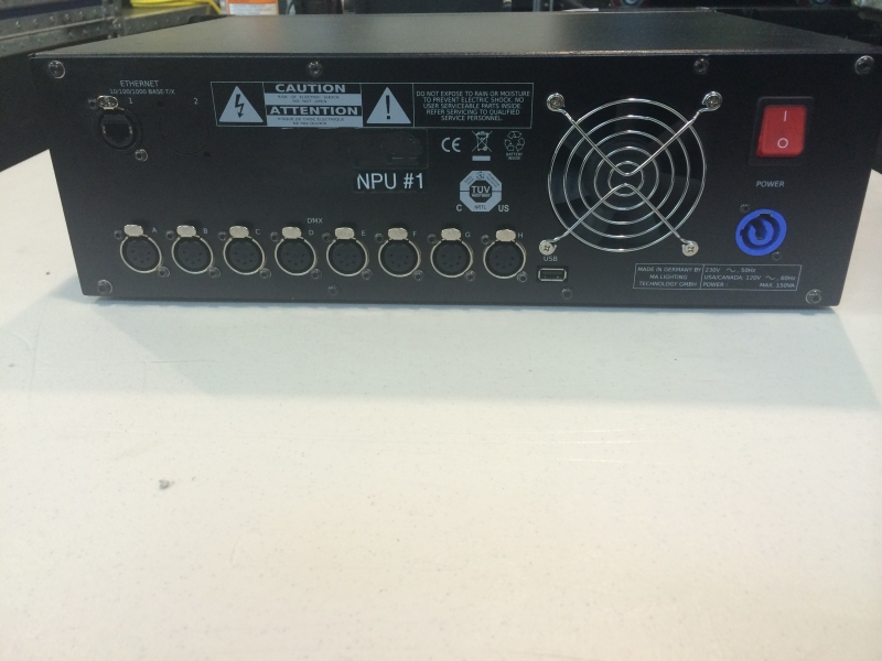 Used MA NPU (Network Processing Unit) from MA Lighting