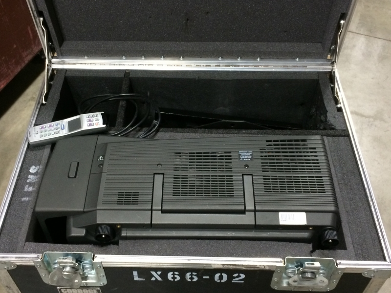 Used LX66 from Christie Digital
