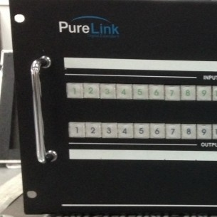 Used DVI Matrix Routers 18x18 from Purelink