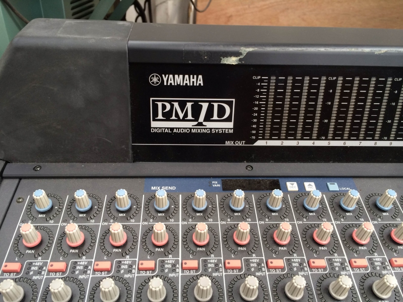 Used PM1D from YAMAHA