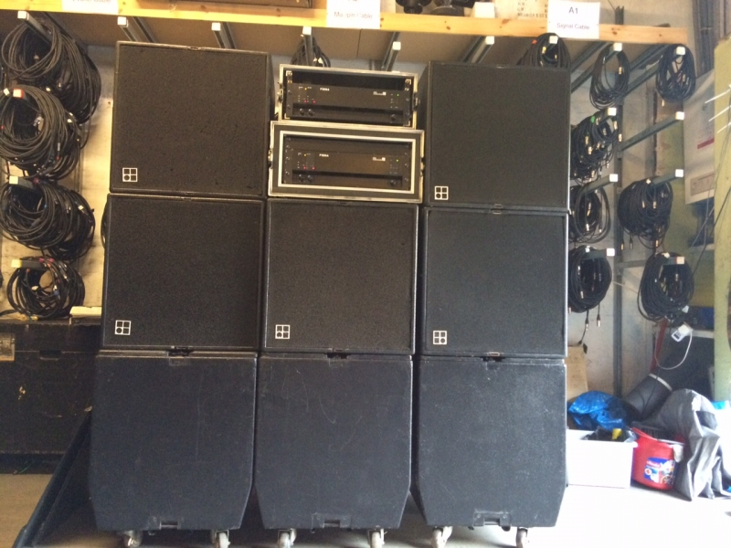 Used C4-TOP System from db audiotechnik