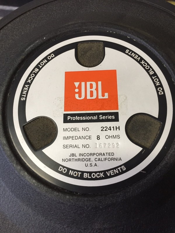 Used 2241H from JBL