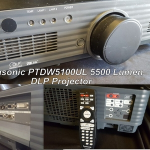 Used PT-DW5100UL from Panasonic