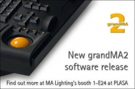 MA Lighting Releases grandMA2 Software Update