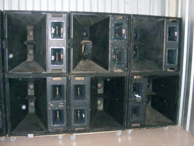 Used Mtl4 Mth4h Speaker System By Electro Voice Item 13069
