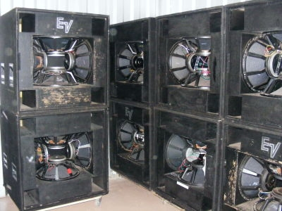 Used MTL4 MTH4H  Speaker System from Electro-Voice