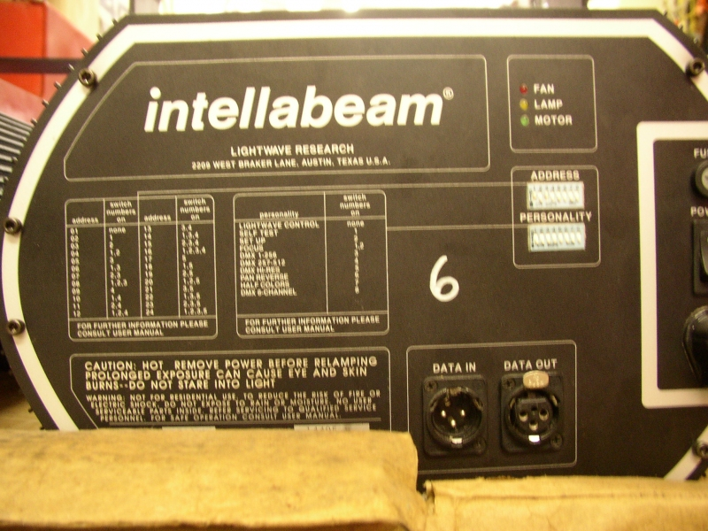 Used Intellabeam 700 Hx By High End Systems Item 13890