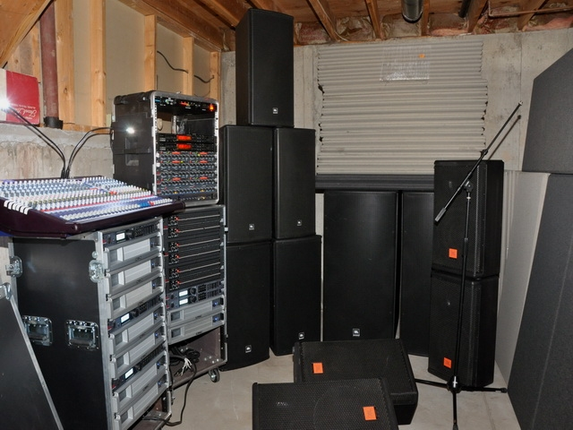 Used Am6215 64 Complete Pa System By Jbl Item 14286