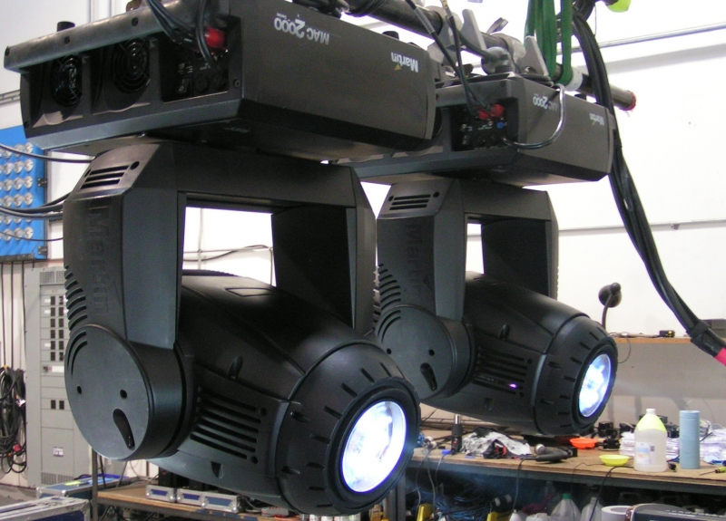 SGm g-spot automated ip65 profile fixture