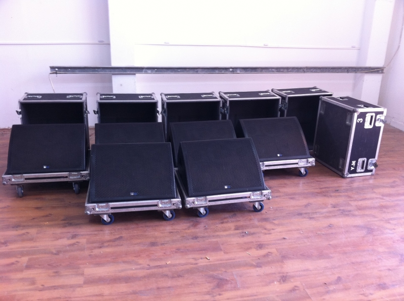 Used MJF-212A Package from Meyer Sound