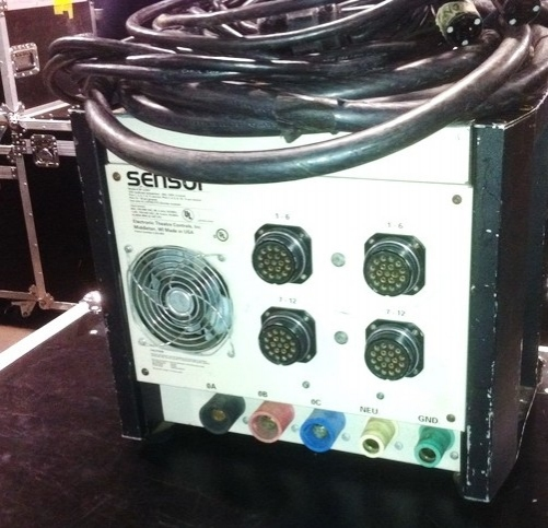 Used Sensor Dimmer Rack - SP 1220 from Electronic Theatre Controls
