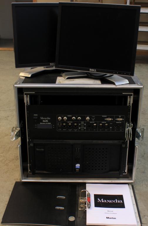 Used Maxedia Broadcast from Martin Professional