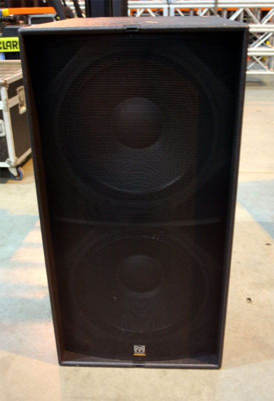 Used WS218X from Martin Audio