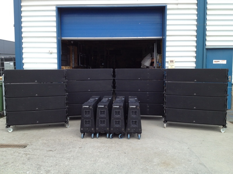 Used Aero Series from D.A.S. Audio