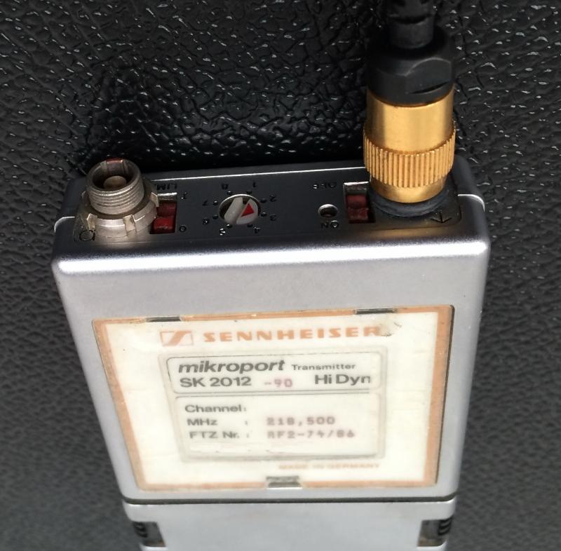 Used EM 3032 Package from Sennheiser