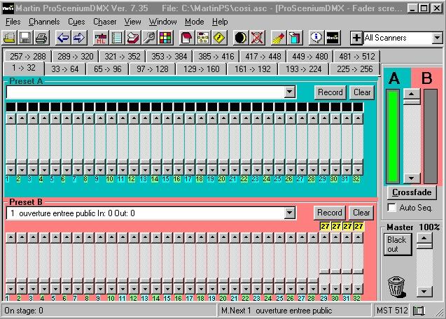 Used MAC III Profile from Martin Professional
