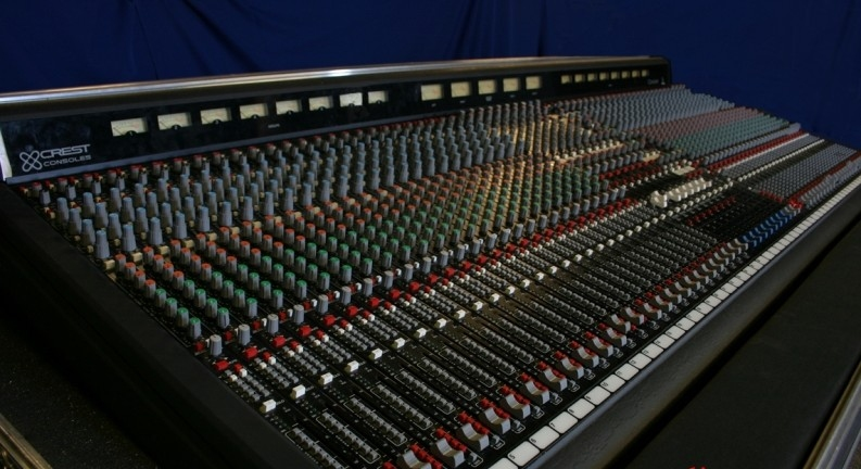 Used VX Series 52 x 8 FOH Console by Crest Audio - Item# 25729