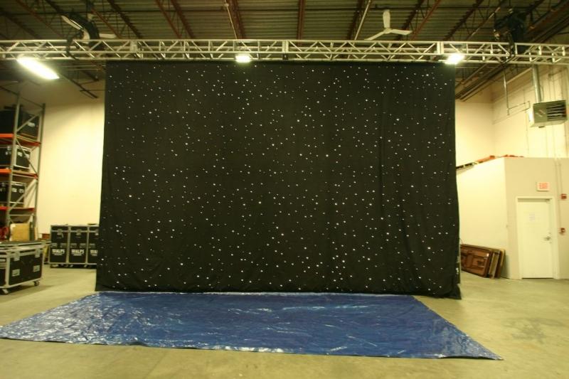 Used Fiber Optic Curtain