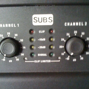 Used Bass Tech 7 subs from ServoDrive