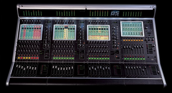 Used D5 RE from DigiCo