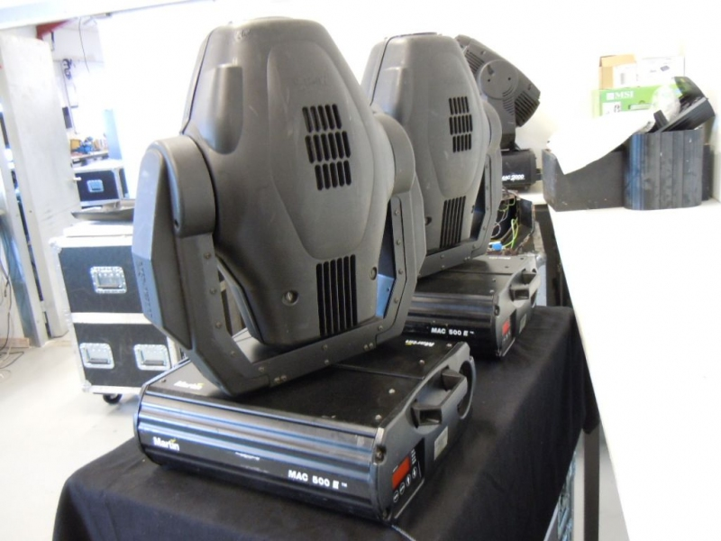 Used MAC 500 from Martin Professional