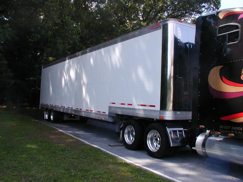Used Electronics Drop Frame Van Trailers by Great Dane - Item# 27683