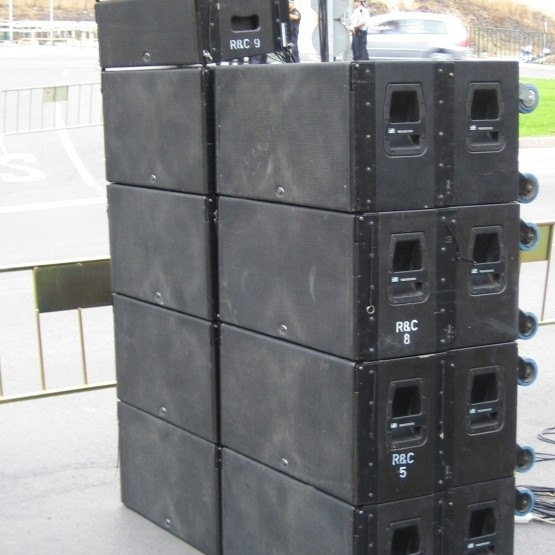 used ca 28a sound system by d a s audio item 27703. Black Bedroom Furniture Sets. Home Design Ideas