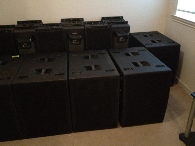 Used VT4888DP-AN Package from JBL