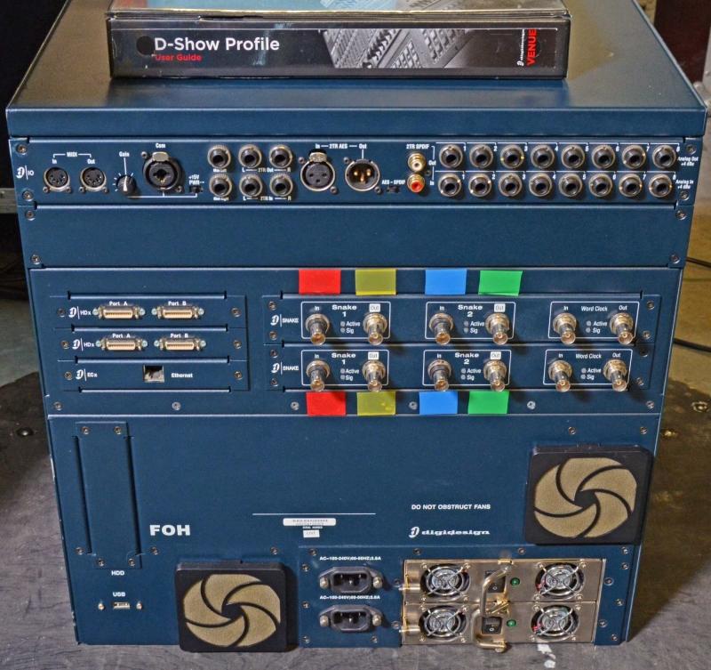Used Venue Profile System Hdx2 Bundle 128ch By Digidesign