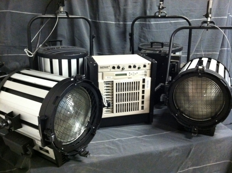 Used 5K Studio Fresnels & Dimming Package from Altman