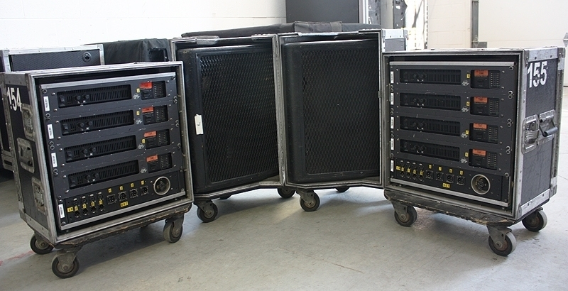 Used 12 AM Stage Montors Pacakge from Clair Bros