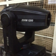 Used Stage Zoom 1200 from Clay Paky