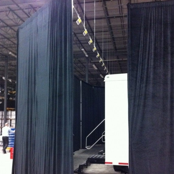 Used Theatrical Drapes: Used Drapery By Miscellaneous