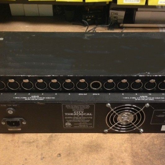 Used PDS-750 TR Power Supply from City Theatrical