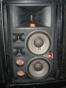Jbl Outdoor Speakers >> Used Concert FOH Sound System by JBL - Item# 3483