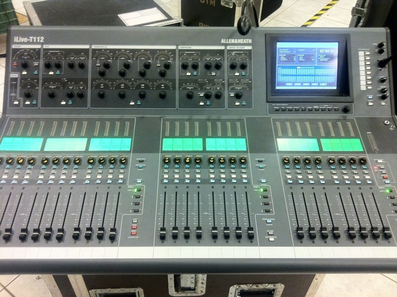 used ilive t112 idr 48 by allen and heath item 35122. Black Bedroom Furniture Sets. Home Design Ideas