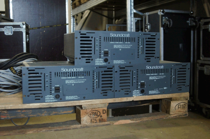 Used CPS1000 from Soundcraft